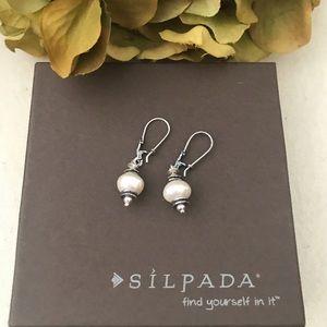 Silpada Freshwater Pearl Earrings